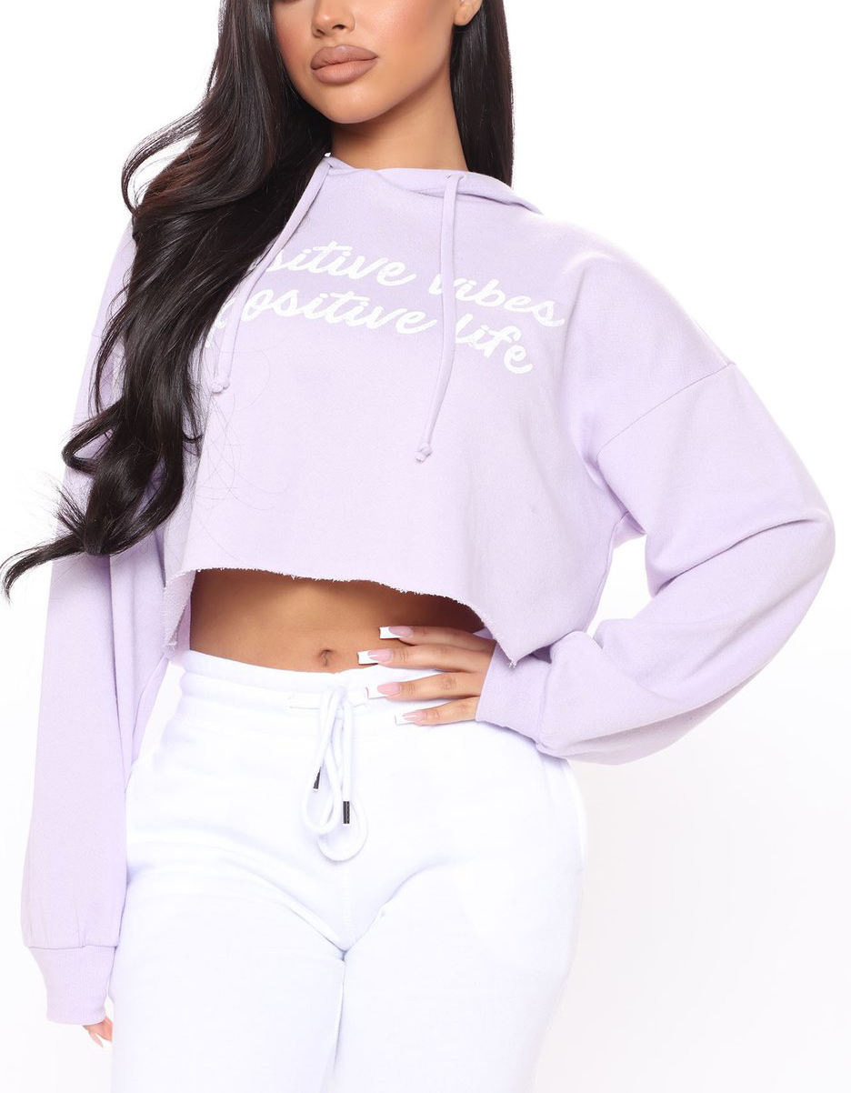 Women's Hoodies Sweatshirts Custom Printed Cropped Sexy Women's Hoodies Latest Sudaderas Sweatshirt Oversized Cotton Hoodies Women