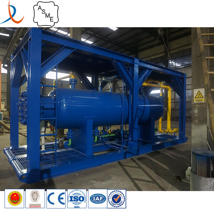 Crude oil production API gas liquid separator / two phase gravity separator / oil gas separator manufacturer from China.