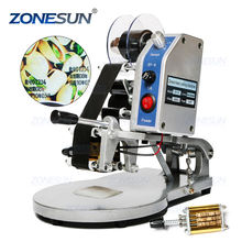 ZONESUN DY-8 Mini Portable Printer Hand Pouch Production Manual Date Batch Coding Printing Machines