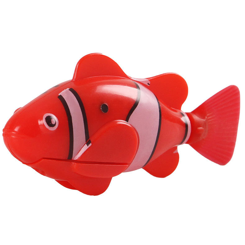 Fashion cat toy Swimming Electric Swim Robot Fish Activated Battery Powered Kids Children Bath Toy