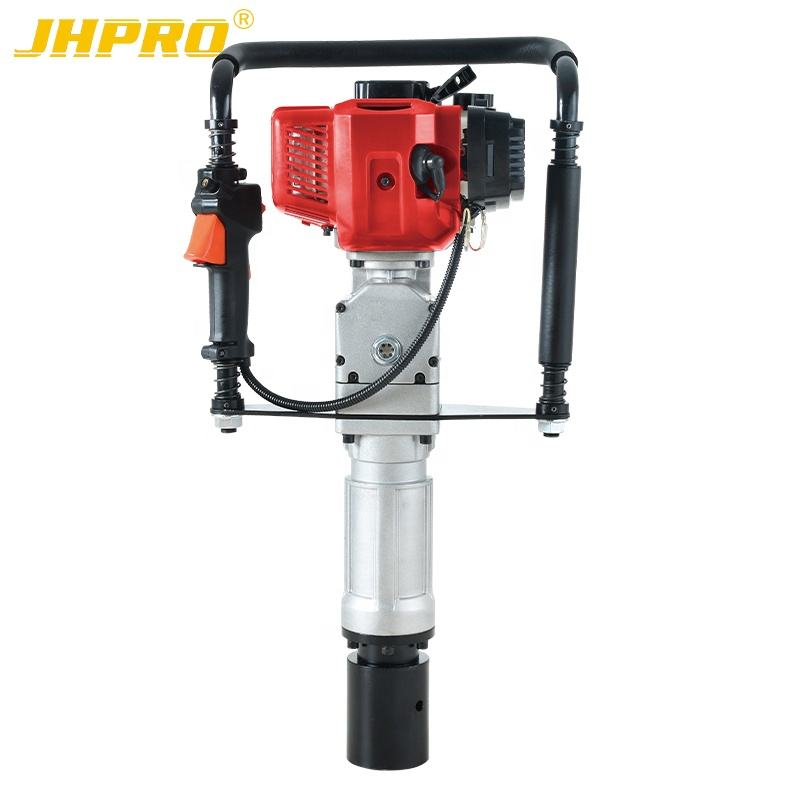 JH60 gasoline post driver pile driver fence pilling