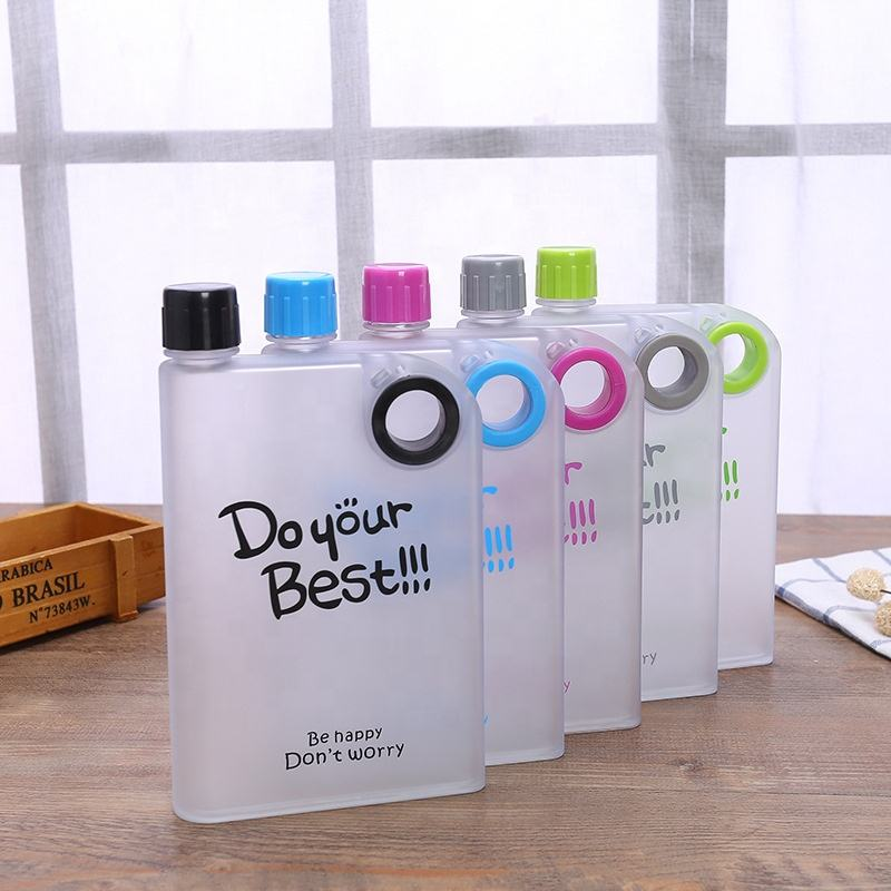 Hot Sale Custom Matt Surface Treatment Bulk Cheap Bottle A5 Notepad Water Bottle