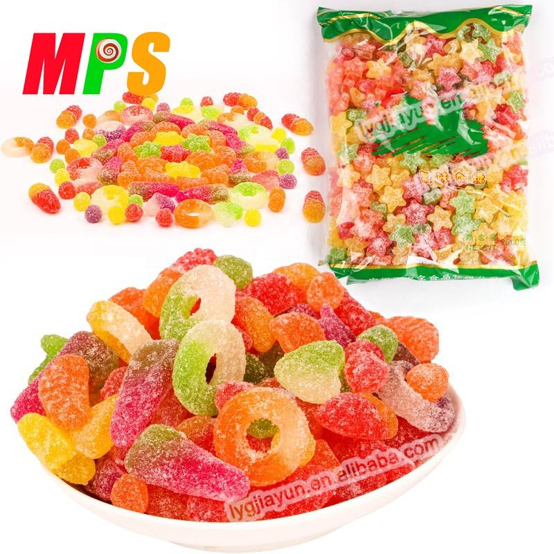 Bulk Wholesale Assorted Sugar Coated Strawberry Candy Gummies