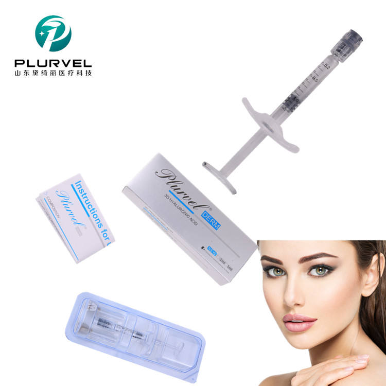 PLURVEL Cross Linked Hyaluronic Acid 1cc Best Quality HA