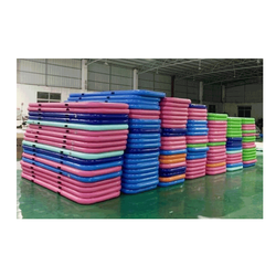 Wholesale gymnastics equipment square inflatable air tumble