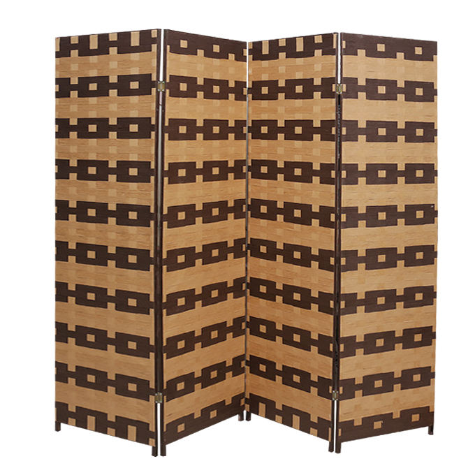 Folding wood screen room divider home decoration items living furniture