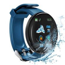2020 D18 Smart Watch For Android IOS phone relogio Waterproof Heart Rate Tracker Blood Pressure Sport smart bracelet relogio