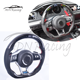 LED Racing MK7 Carbon Fiber Steering Wheel Fit For VW Golf 7 GTI Passat Polo Scirocco 2014-2018