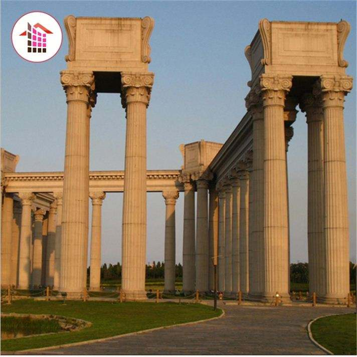 Latest Design Competitive Price Garden Stone Column