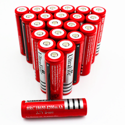 18650 Battery Rechargeable Lithium Batteries for Flashlight