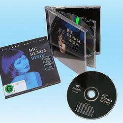 Audio CD making standard jewel case packing