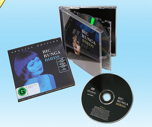 Audio CD making standard jewel case packing