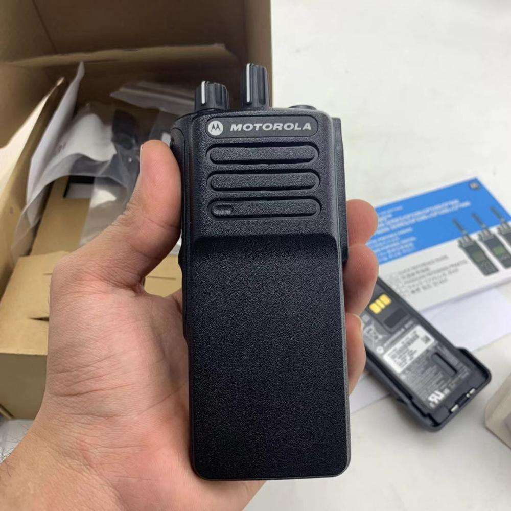 Handheld Nirkabel Komunikasi Analog dan Digital Model untuk Motorola Walkie Talkie VHF GP328D +