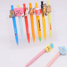 PVC pen for various cartoon customized design with soft pvc cute back to school