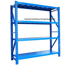 Adjustable steel shelving storage rack shelves removable industrial type medium duty racking