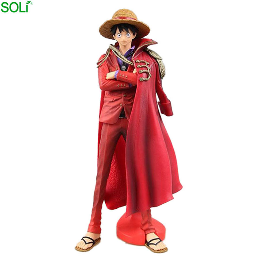 Hot Sale Pvc Resin Japanese Anime One Piece Luffy Action Figure