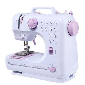 Multifunction Household Leather Stitching Tailoring Buttonhole Mini Electric Sewing Machine for Cloth