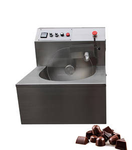 Professional Manufacture PK-08 Chocolate Melting Tempering Machine with Transparent Cover