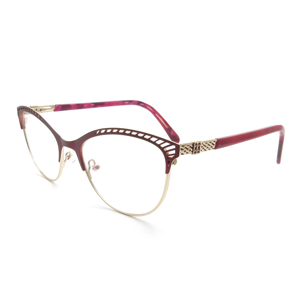Wholesale mens metal optical frames glasses high quality