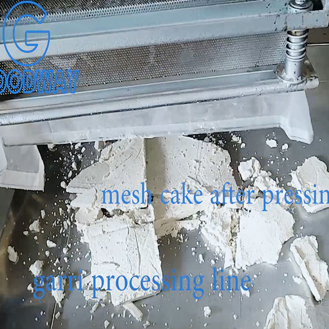 Online wholesale shop reasonably priced tapioca processing machine cassava flour machine