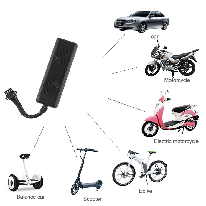Very light and cheap vehicle GPS tracker to track vehicles, motorcycles, electric vehicles in real time