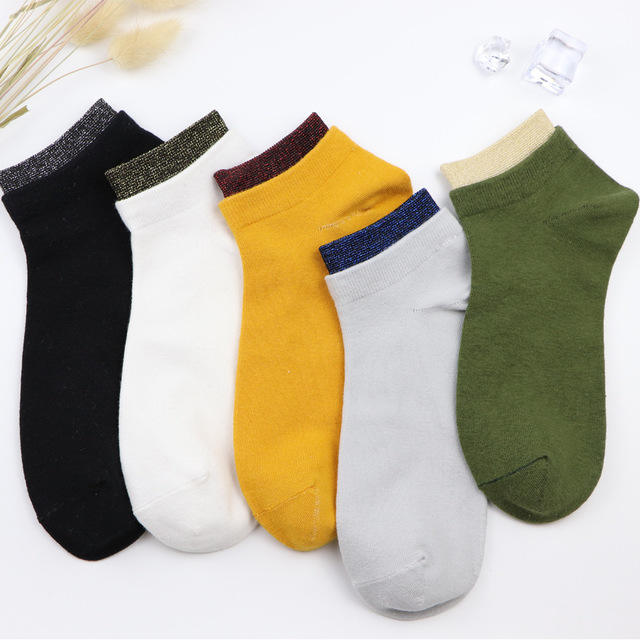 Hot sale Solid color leisure boat socks kids cycling socks