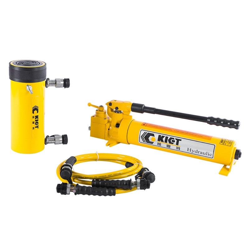 Low Price High Pressure Long Stroke Double Action 10-150 Ton Hydraulic Jack Cylinders