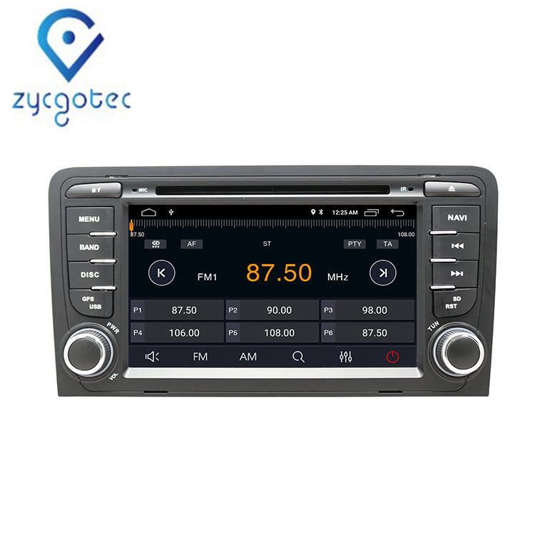 Zycgotec 9.0 Audio Radio untuk Audi A3 8P 2003-2012 S3 2006-2012 RS3 Sportback 2011 Android 9.0 DVD Headrest Mobil Dvd Player