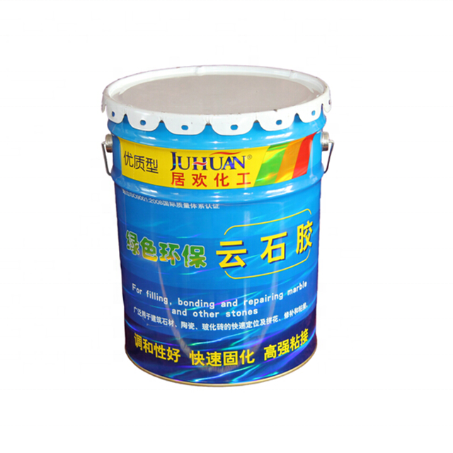 0.8l polyester resin granite marble adhesive double components marble glue