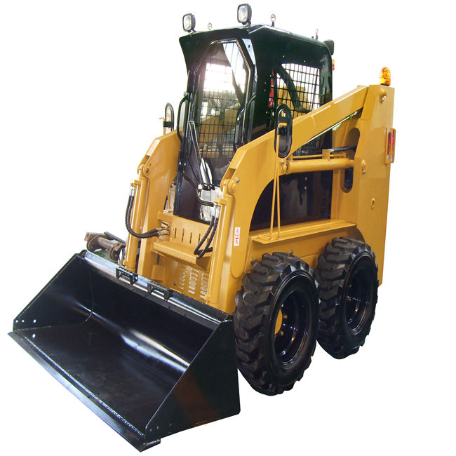 Mini Skid Steer Loader With 4 In 1 Bucket,Skid Steer Loader Hydraulic Earth Auger,Skid Steer Loader Attach Bale Clamp