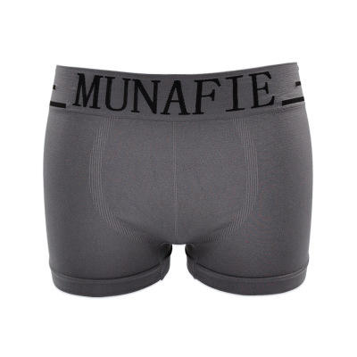 Munafie Men's Nylon Briefs Printed Letter Comfy Underpants Soft Good Elasticity Underwear mens briefs