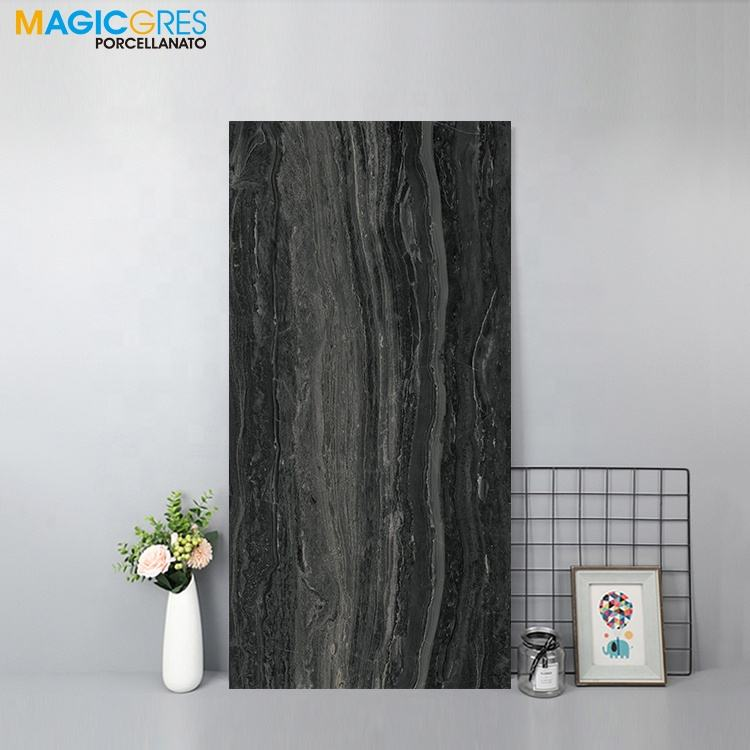 with CE cheap price black color bathroom wall tile ceramic