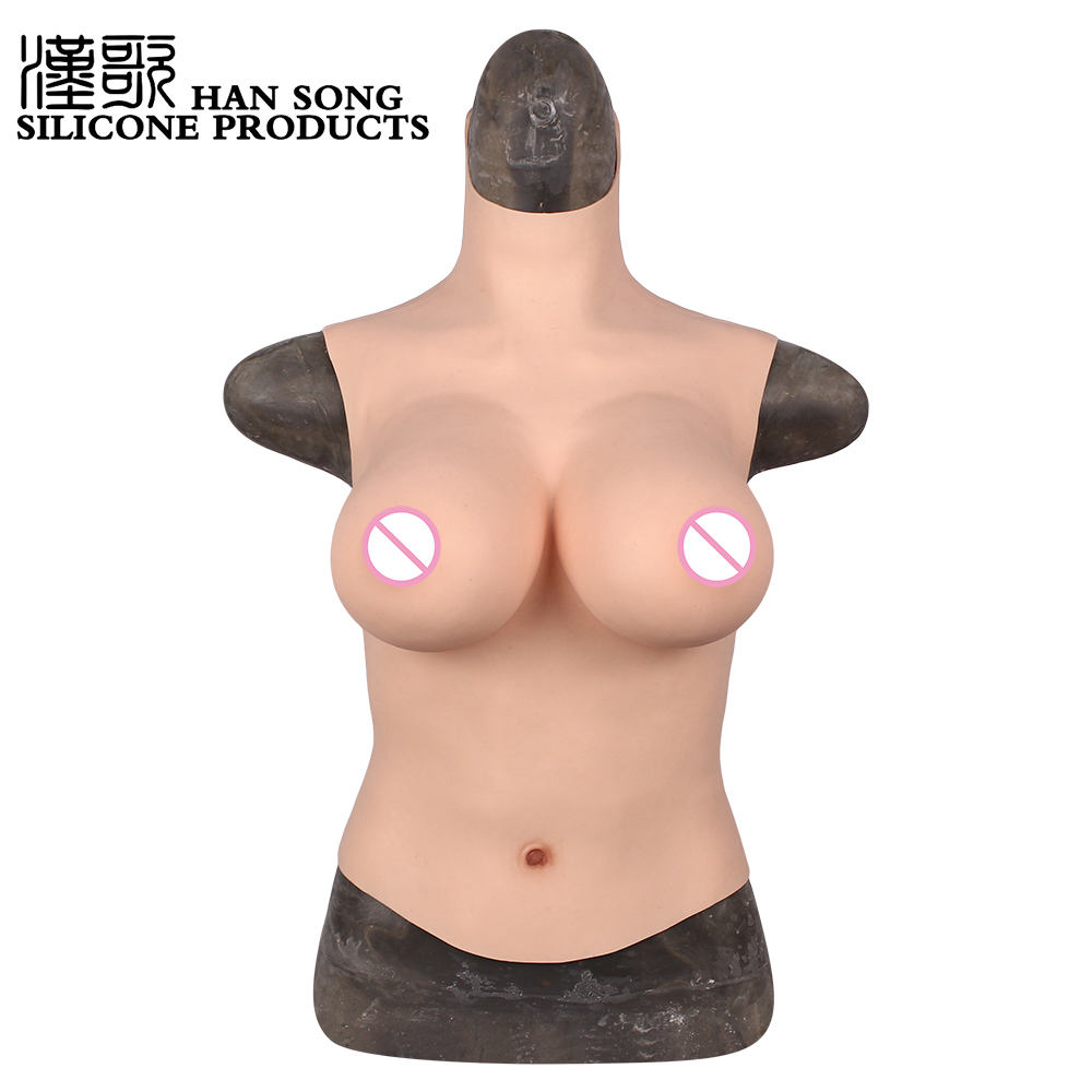 New E Cup Artificial Realistic Breast for Woman Mammectomy Boobs Tits Cross Breast Forms
