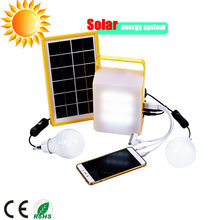Mini off grid led home lighting solar generator panel power system light kits energy systems