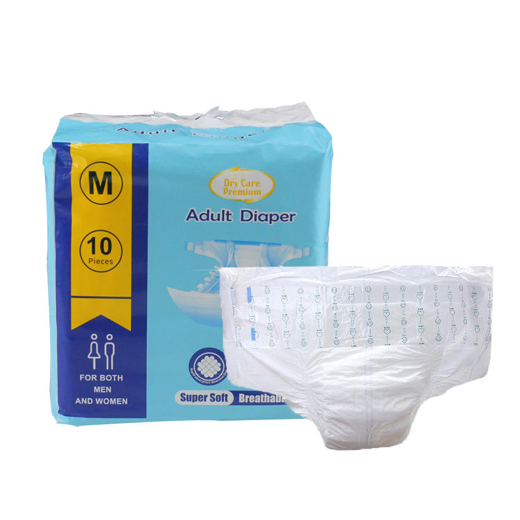 manufacturer free samples Adult diapers disposable adult diapers b grade adult diaper test for men women for hospital