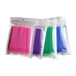 100PCS/Pack Disposable Makeup Brushes Swab Micro brushes Eye