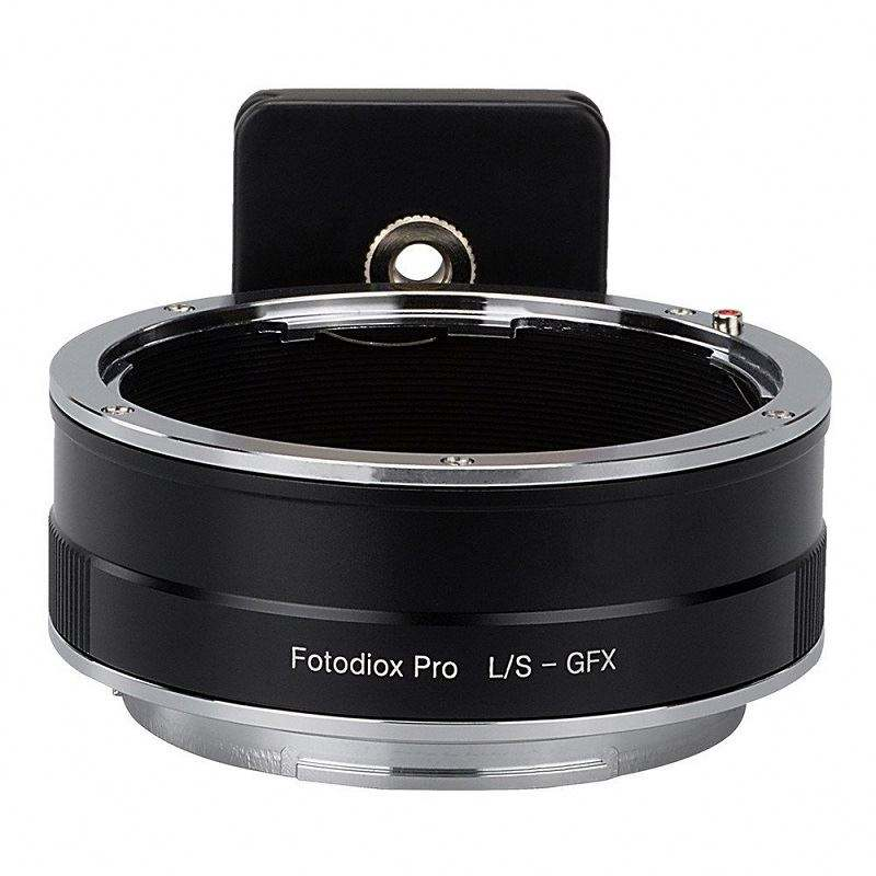 Fotodiox Pro L/S-GFX lens adapter ring for Leica S lens to Fujifilm GFX 50S camera GFX mount Camera DSLR