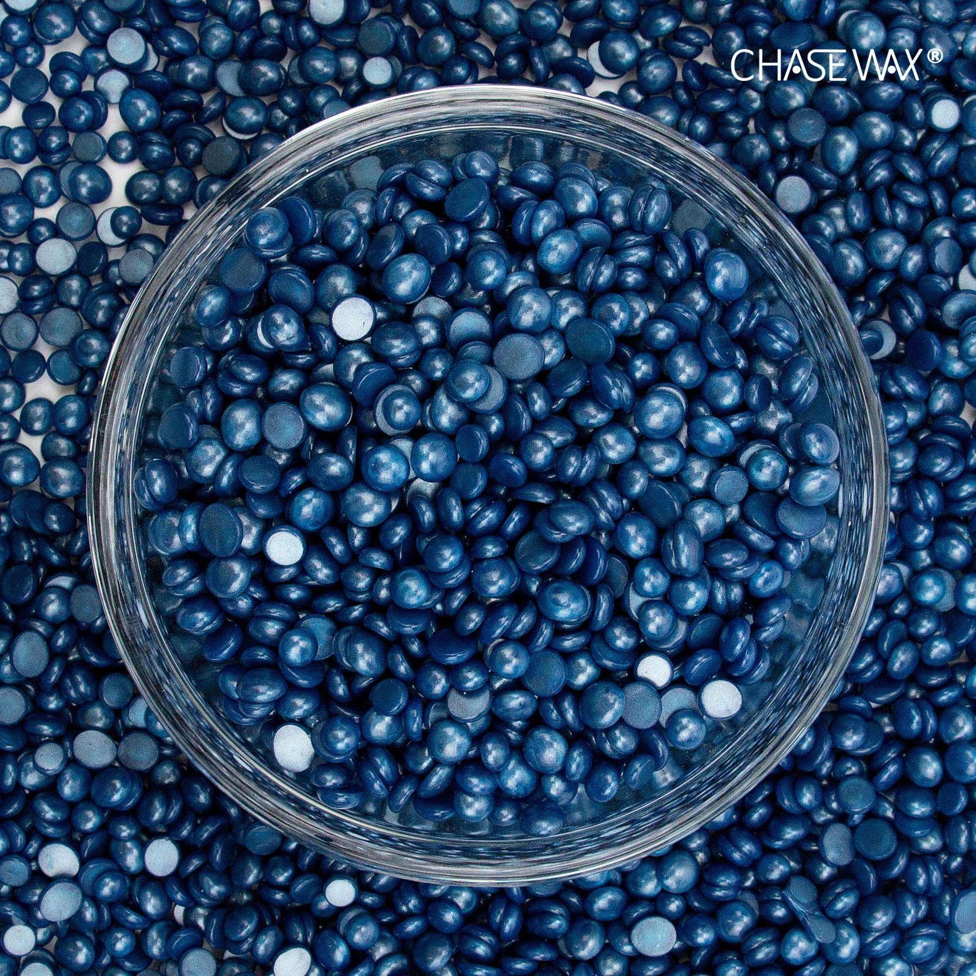 Wholesale 500g Shimmering Blue Hard Wax Beans Hair Removal Bead Depilatory Wax For Full Body Waxing