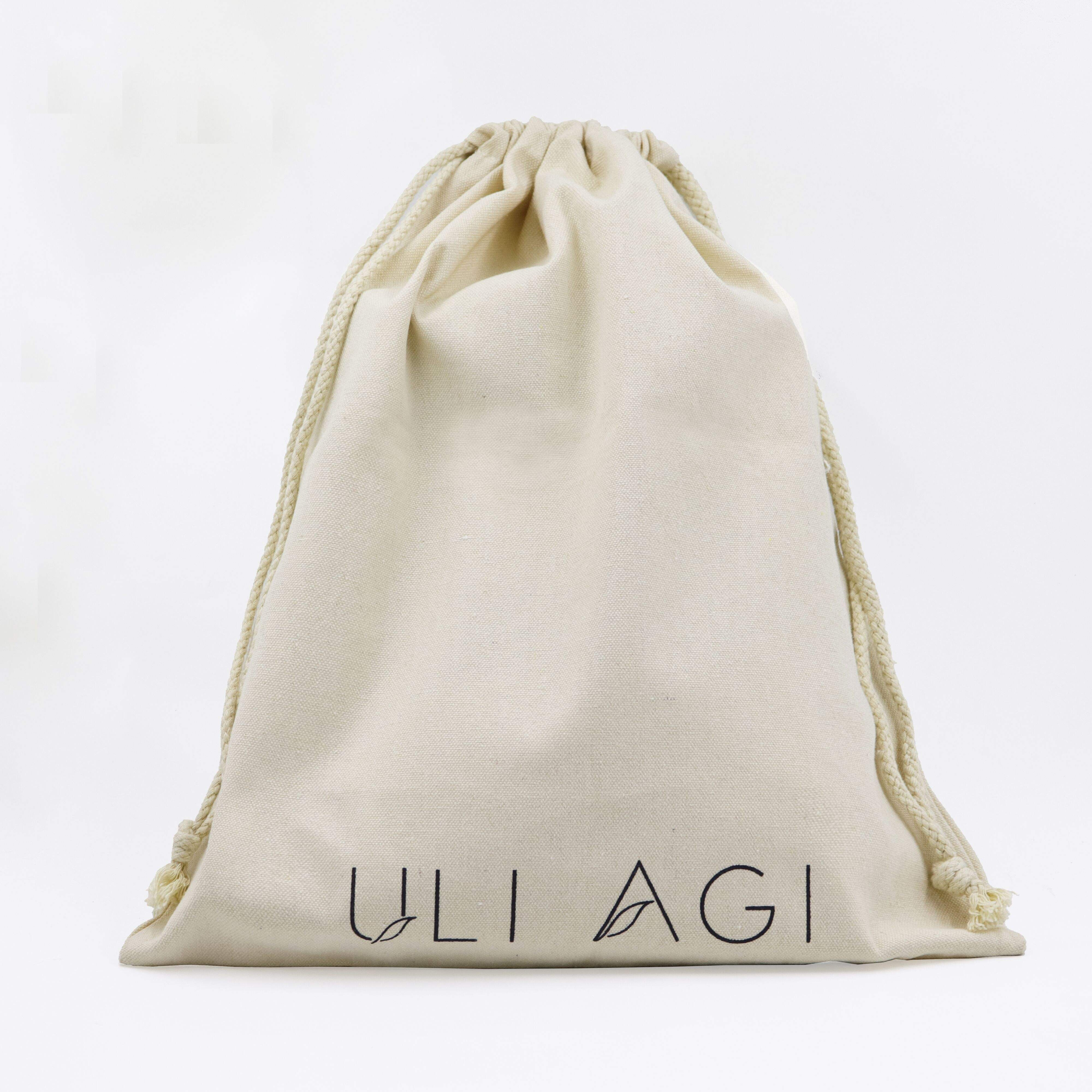 Custom Elegant Mini Jewelry Grey Cotton Drawstring Dust Bag Shoe With Brand Logo For Promotion Wholesales