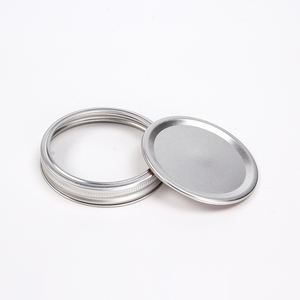 Low Price 70mm 80mm Wide Mouth Canning Lids For Mason Jars Split-type Lids For Sale
