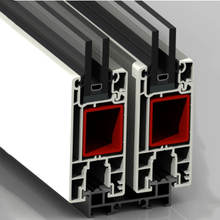 CE Certified uPVC Windows Plastic PVC Hollow Profile Made in China