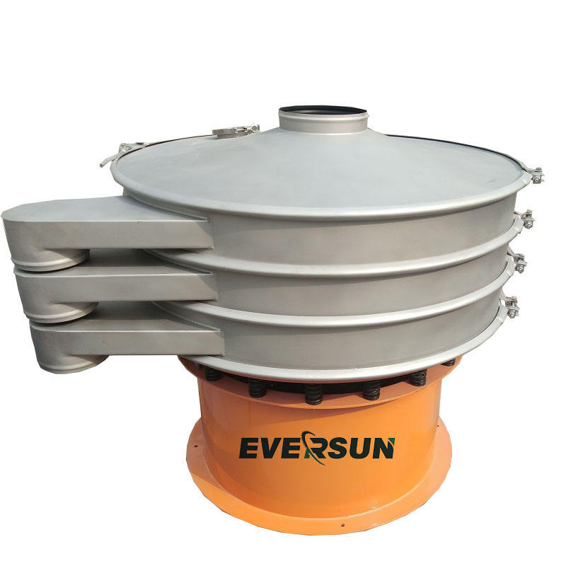 energy saving portable rotary electric vibrating sieve machine