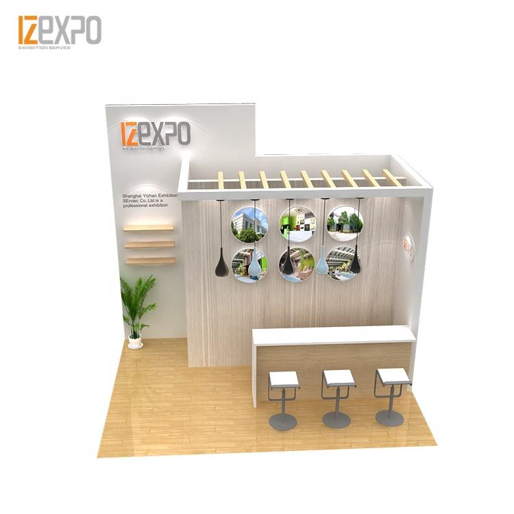 IZEXPO 30MINS QUICK SETUP exhibition stand material exhibition system booth for trade show