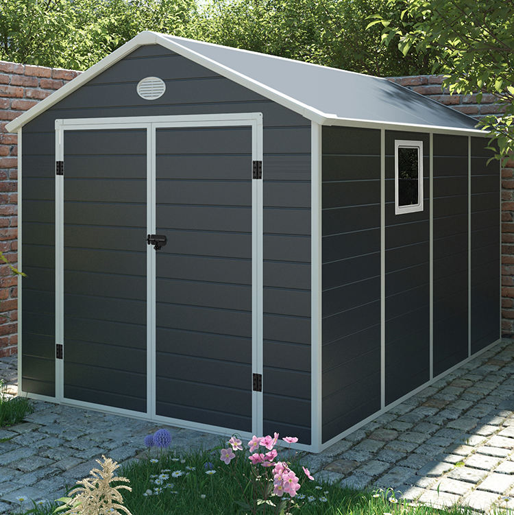 hot sale 6*9FT plastic shed for outdoor garden storage tool cabinet