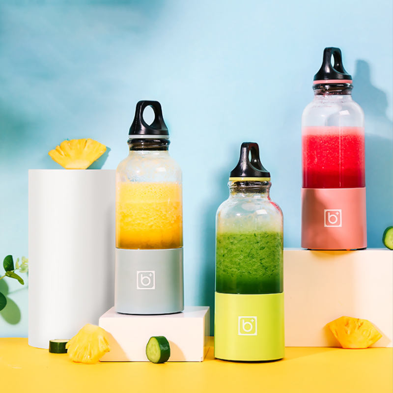 Everich 500ML 2600mAH USB Charge Juicer Bottle Blender Professional Portable Fruit Blender