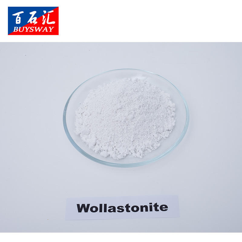 Acicular Wollastonite for Ceramic /Paper Making/Construction Industry Friction Wollastonite Powder for Matellurgical Slag
