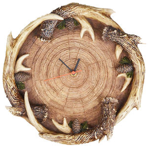 Antler Wall clock Home Decor home decor with deer themed