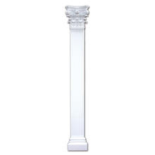 Banruo European Style White Resin Roman Pillar Greek Column for Wedding Decoration