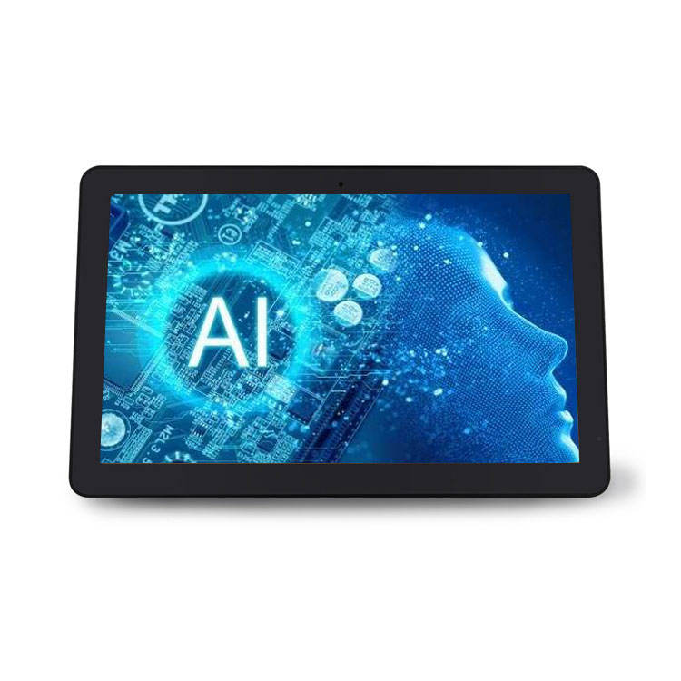 OEM Android 8.1 13.3 inch tablet all in one pc 1920*1080 HD LCD reclame display voor Smart Home draaiende Machine