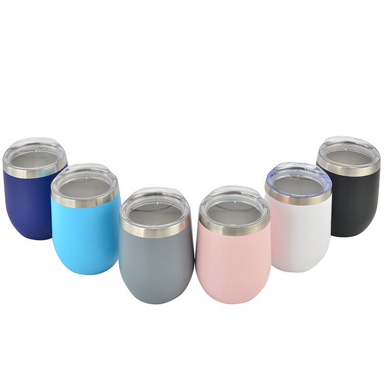 12oz Small Gift Double Wall Stainless Steel Thermal Espresso Beer Wine Water Big Belly Vacuum Insulated Coffee Mug